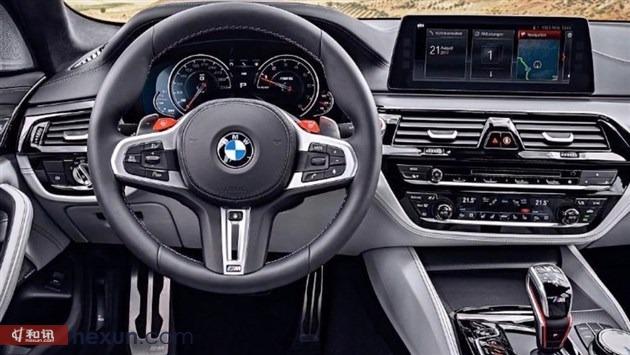 宝马全新M5正式接受预定 将于广州车展国内首发