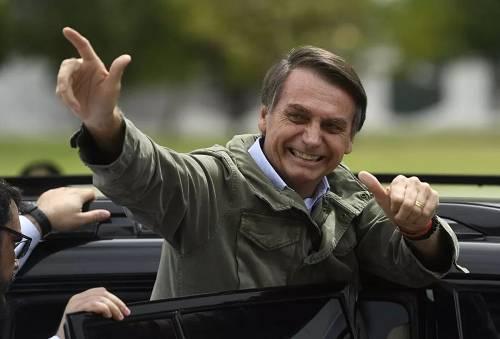 巴西当选总统博索纳罗