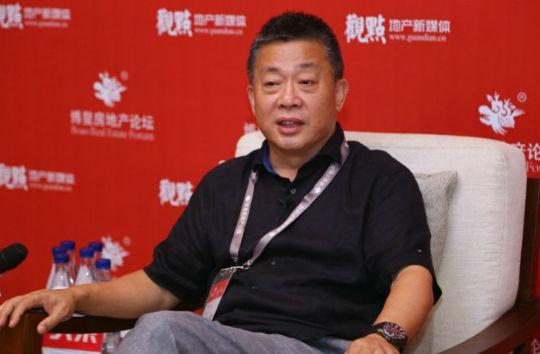图:融创中国实走总裁、广深区域实走总裁余英