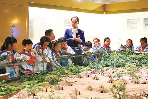 甘肅省博物館常態化免費開放。