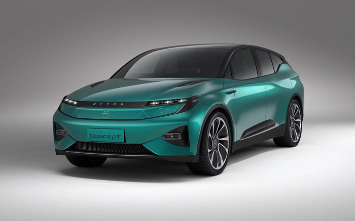 今天北京时间1月7日,高端智能电动汽车品牌拜腾亮相2019美国拉斯维加斯国际消费电子展CES,公布其计划于今年实现量产的BYTON M-Byte车型的诸多细节。