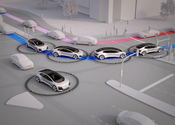 奥迪宣称未来城市交通将不再拥堵 自动驾驶车辆占比至少达到40%