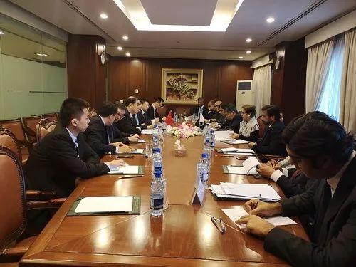 2019年3月6日,孔铉佑访问巴基斯坦。(外交部网站)