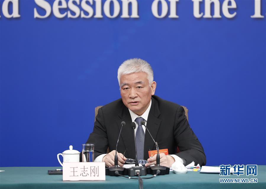 """科技部部长王志刚等就""""加快建设创新型国家""""答记者问"""
