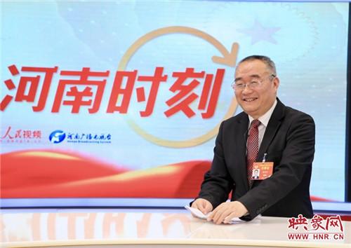 全国政协委员、洛阳师范学院院长梁留科
