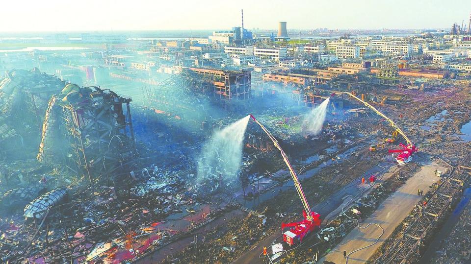 """响水""""3・21""""爆炸事故共有住院治疗伤员604人"""