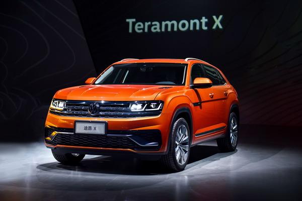4款大众全球首发SUV亮相上海 途昂X将于5月上市