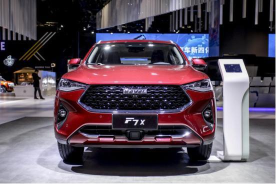 13.79万元起 哈弗F7x极智科技版上海车展开启预售
