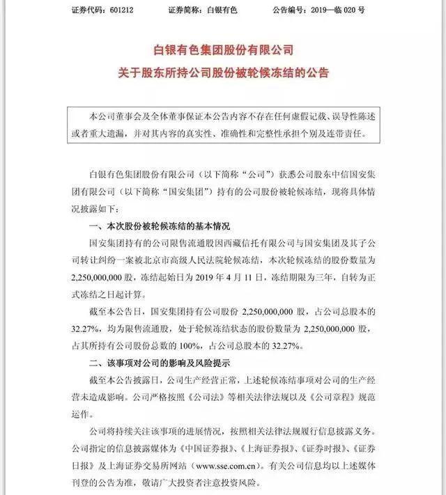 中信國安負債1558億!求監管部門阻止銀行追債!北京銀行栽了!