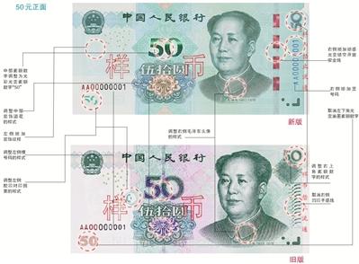 新版第五套人民币:颜值&防伪双升级 喜欢吗?