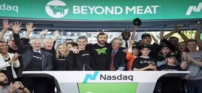美股人造肉第一股BeyondMeat一度涨8% 上市来涨220%