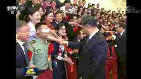 新闻联播动人一幕!他向总书记敬上特殊军礼