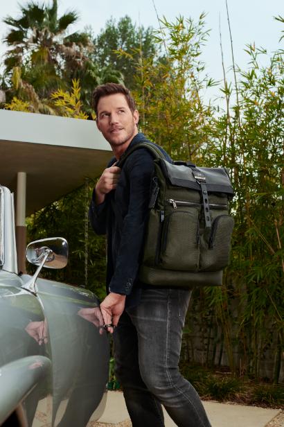 TUMI邀您与好莱坞巨星 Chris Pratt 奔赴一场探索旅途