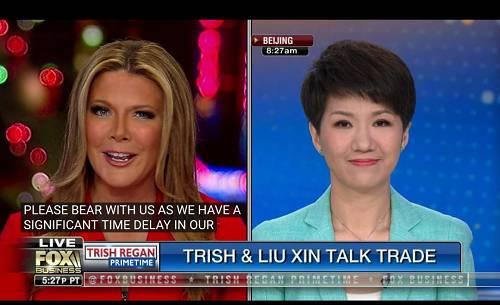 重磅!中美女主播约战全程实况:刘欣不卑不亢,美主播不断插话打断