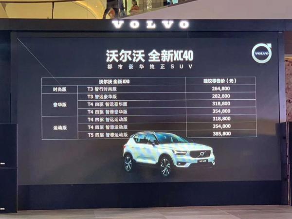 新车竞争力|敢与进口版本同价位 国产XC40只为留出空间打价格战?