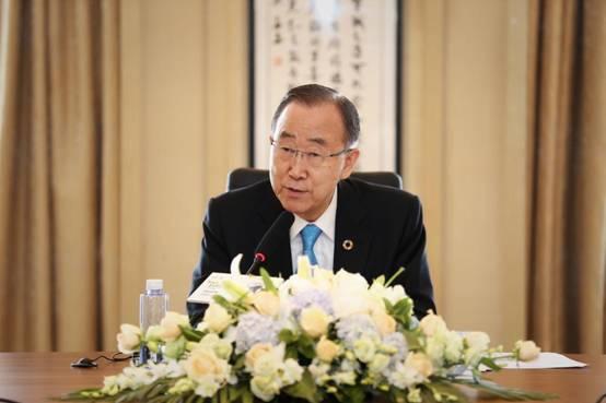 联合国第八任秘书长与阳光控股等企业共商可持续发展之道