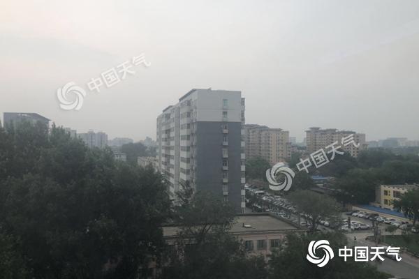 北京4区将有雷电冰雹 城区明早高峰将遇雨