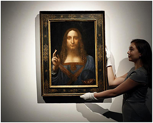 外媒猜测达芬奇天价画作《救世主》或藏身沙特王储穆罕默德·本·萨勒曼的船上