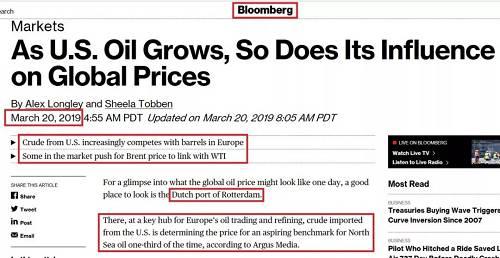 【期权漫谈】第96讲:美油布油(CL.BZ)理论价差及如何用期权来做这一价差交易