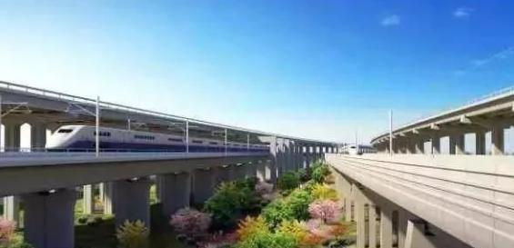 北京大兴国际机场 交通效果图