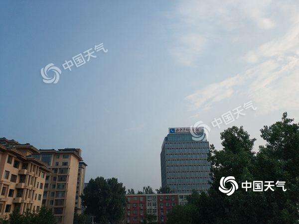 双休日北京有雷雨 局地伴大风冰雹