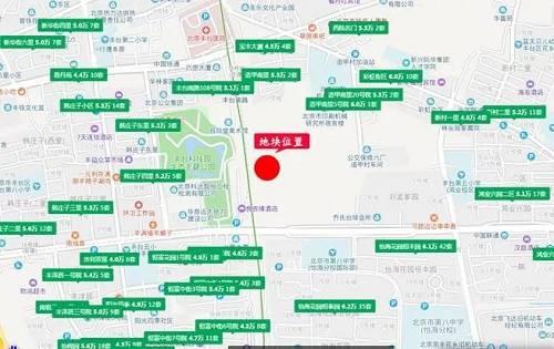 距离该地块一公里之外,有众多豪宅项目,比如懋源钓云台、葛洲坝北京中国府等单价10万+豪宅,接近三环的限竞房西城天铸均价7.8万元/�O,南四环外的中国中铁・诺德春风和院均价67702元/�O,更多购房选择,请移步至本文末尾。