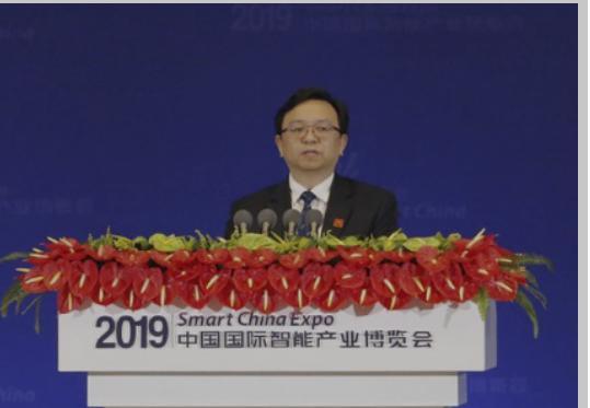 王传福在开幕式发言