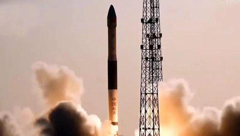 中国太保护航快舟一号甲运载火箭成功发射