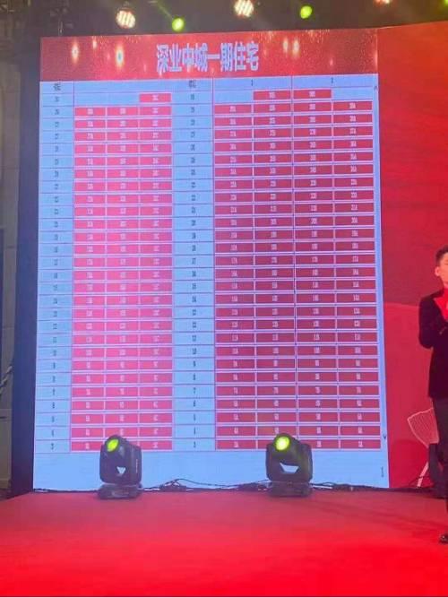 深圳豪宅剪影:最低1500万元/套 从2794人中选500人抢192套房源