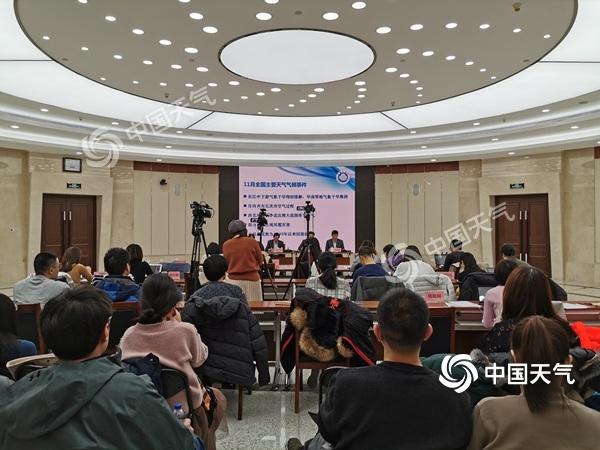 中国气象局:未来十天冷空气频繁但势力弱 内蒙古东北有降雪