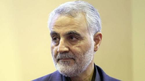 """伊朗""""圣城旅""""指挥官卡西姆·苏莱马尼(资料图)"""