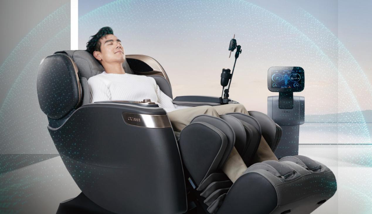 硬核科技好物,奥佳华AI按摩机器人还原真正好按摩