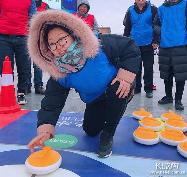 """冰雪运动会来了 白洋淀人民乐了""""冰雪英雄系列活动""""走进雄安"""