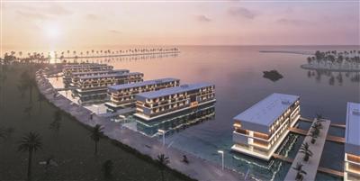 迎2022年世界杯 卡塔尔将在海岸打造16家浮动酒店