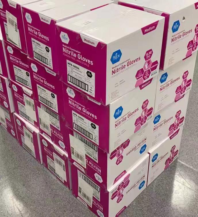 中行纽约分行捐赠的第二批疫情防控物资
