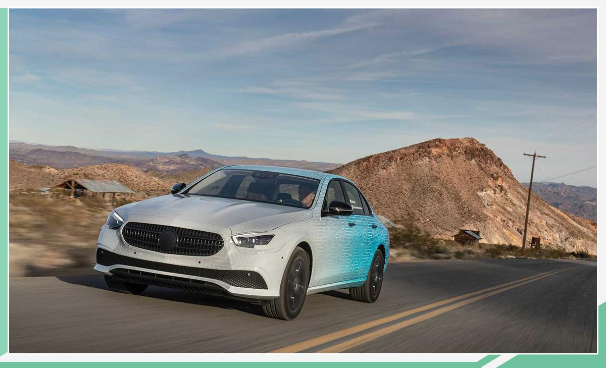 新款奔驰E级日内瓦车展亮相 搭2.0T/3.0T发动机