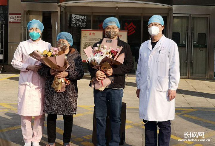 再传好消息!石家庄一对新冠肺炎母子治愈出院