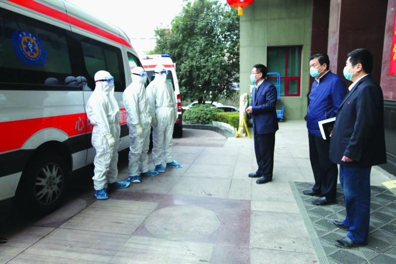 市急救中心:抗擊疫情沖鋒在一線