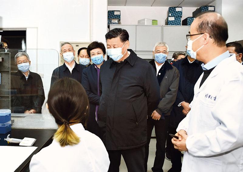 为打赢疫情防控阻击战提供强大科技支撑