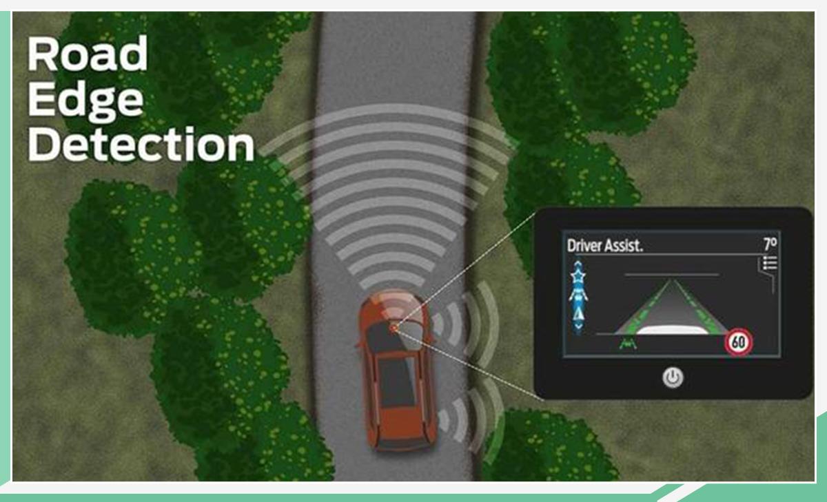 可监测到马路牙子 福特推出道路边缘检测技术