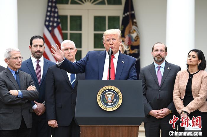 特朗普将听取应对新冠肺炎疫情和重启经济的新建议