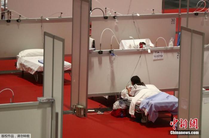西班牙逾1.9万医务人员确诊感染 13人不治殉职