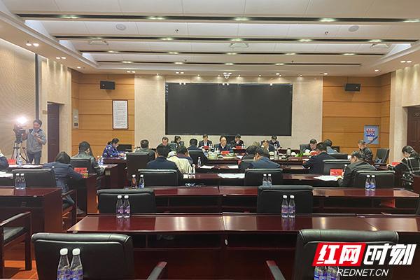 湖南省人大赴省人社厅督办重点处理代表建议