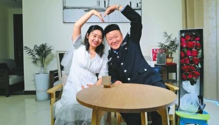 百对战疫新人云集体婚礼 2020520幸福的模样