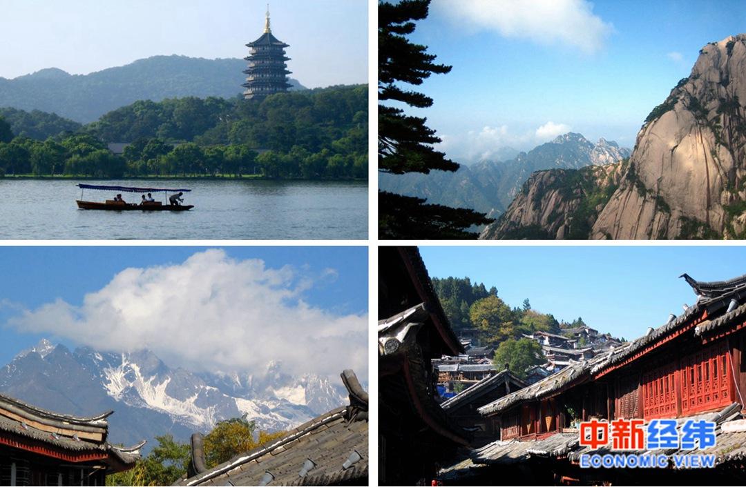 """21省份端午旅游收入""""成绩单"""":湖南暂列第一 4地超50亿"""