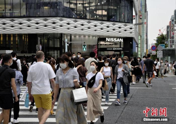 日本东京就新冠疫情公布7项新指标 注重医疗稳定