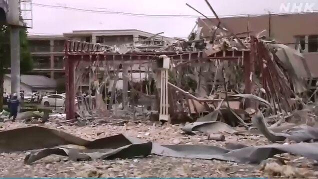 日本福岛爆炸已致1死17伤 疑似火锅店液化气泄漏导致