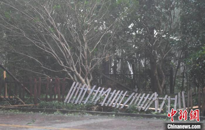 """台风""""黑格比""""离境浙江 强度逐渐减弱"""