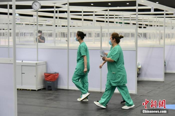 林郑月娥:香港疫情仍然严峻 将提供免费自愿性普及病毒检测服务