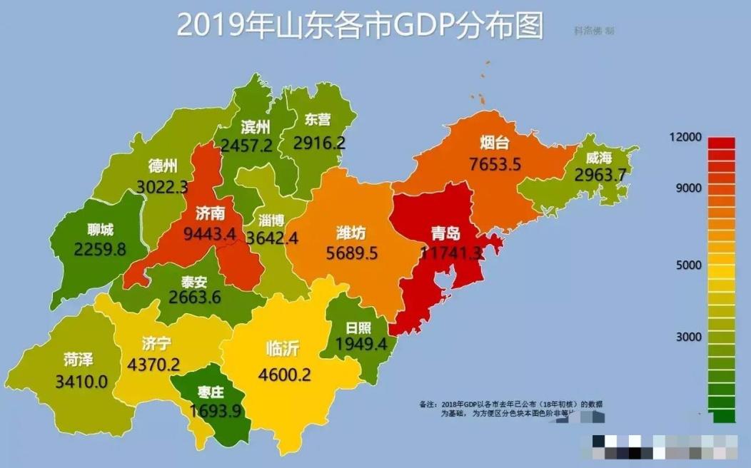山东各市2020年gdp_2020山东各市gdp